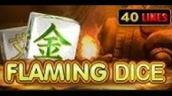 Flaming Dice - Slot Machine - 40 Lines