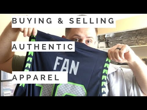 Where I Buy Authentic NFL Apparel For Online Resale