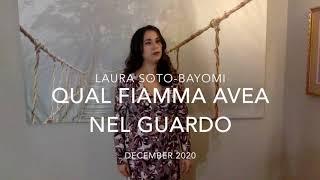 """Laura Soto Bayomi """"Qual fiamma avea nel guardo...Stridono lassù"""" Pagliacci"""