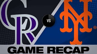 6/8/19: Matz, Alonso lead Mets to a 5-3 victory