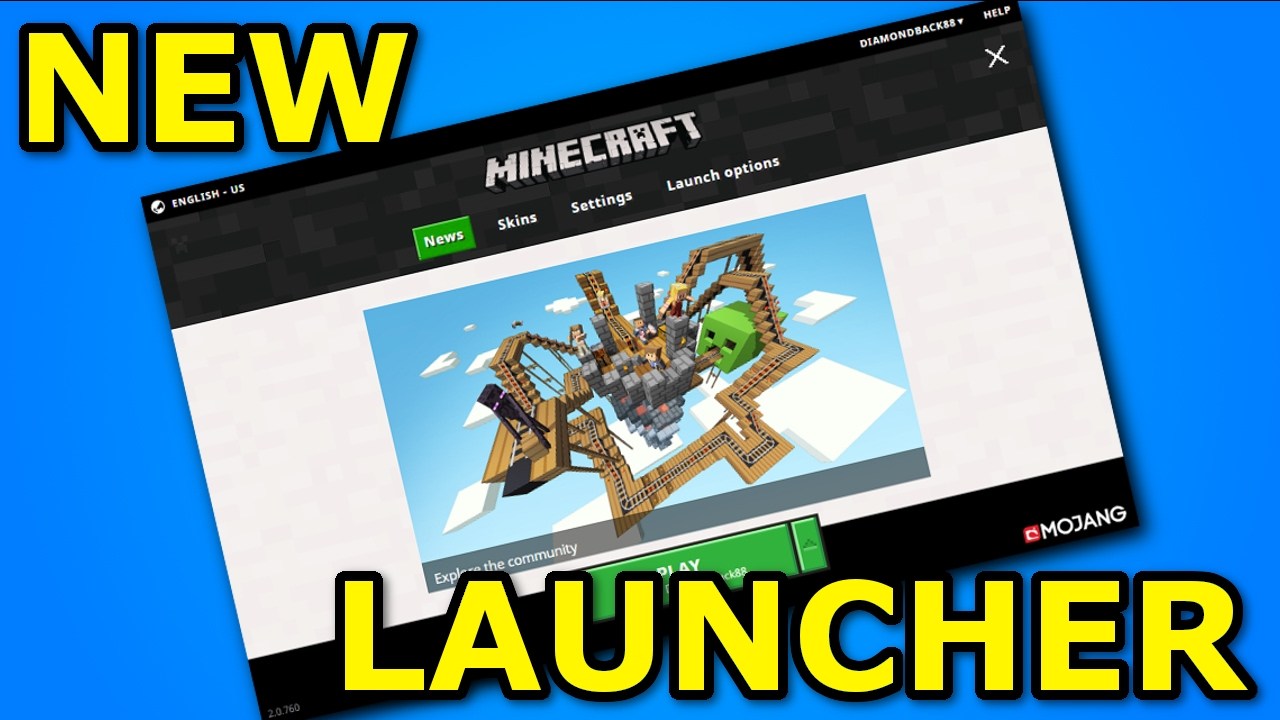 WHAT'S NEW in the NEW MINECRAFT LAUNCHER? - YouTube