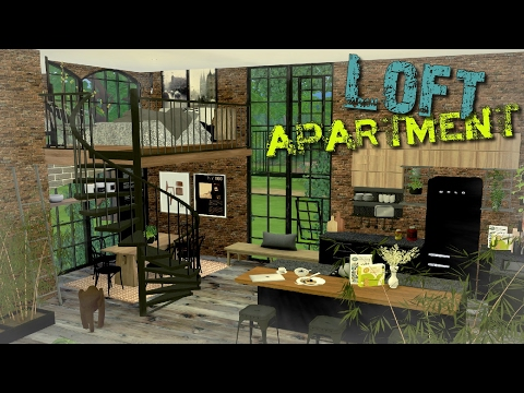 The Sims 4 - ♥ Loft Apartment ♥