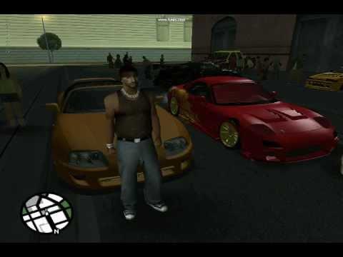 2 Fast 2 Furious - GTA San Andreas