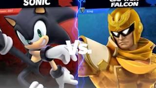 Did My Spring Just-? - Sonic Vs Captain Falcon - Super Smash Bros Ultimate Online Battle