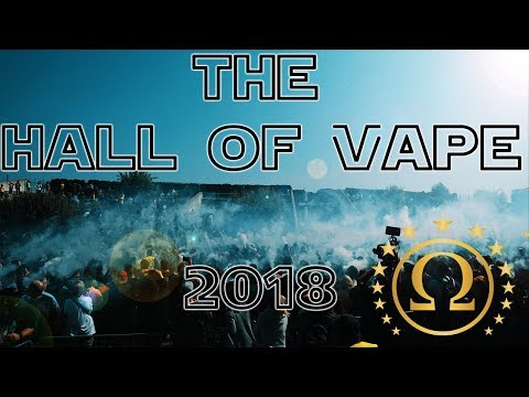 The Hall of Vape 2018 in Stuttgart - Cinematic Film Highlights - Azad - dampfergirl
