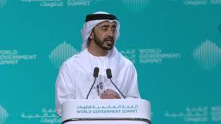 صاحب السمو الشيخ محمد بن زايد آل نهيان - القمة العالمية للحكومات 2019