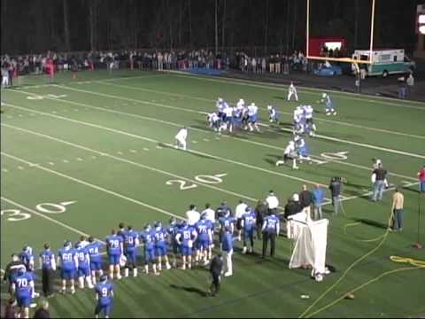 Daniel Carlson 2009 Charlotte Christian Football Highlights