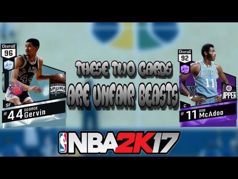 NBA 2K17: MY TEAM ONLINE ( GEORGE GERVIN & BOB MCADOO DEBUT )