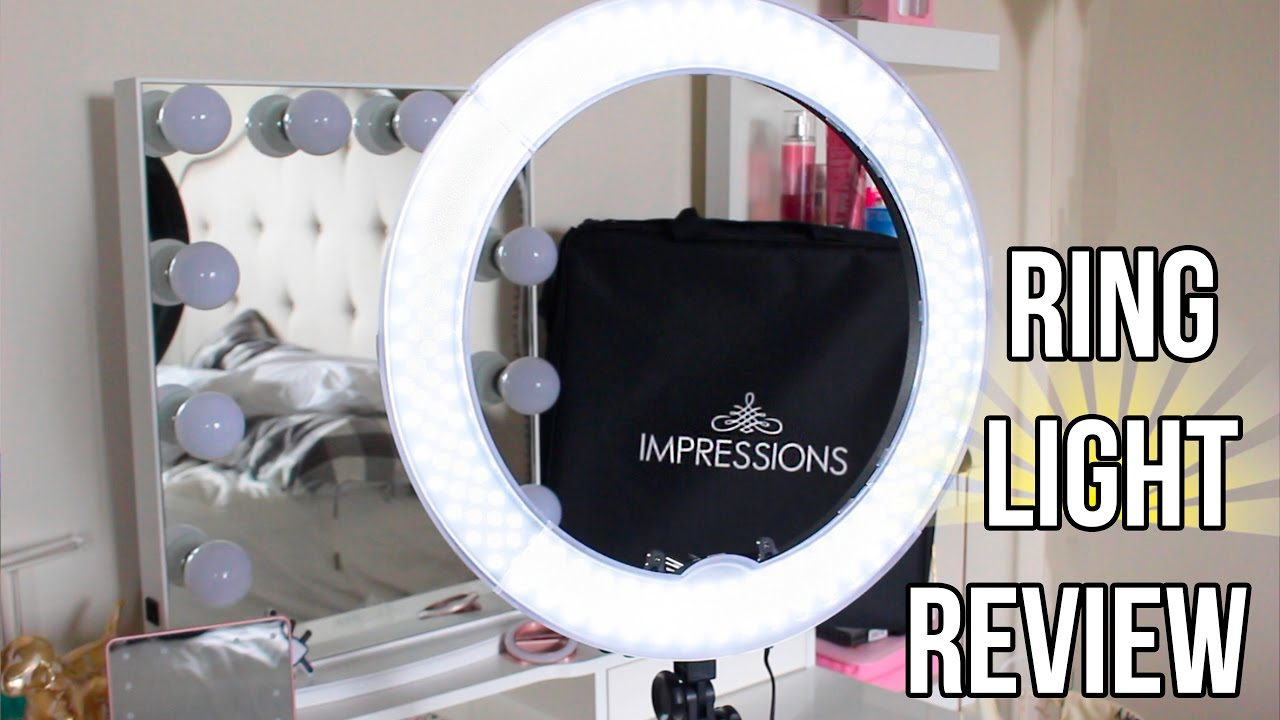 Impressions Vanity Ring Light Worth It Discount