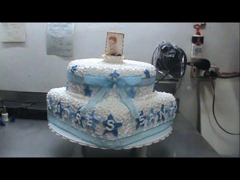 Torta para bautizo.