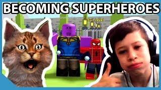 Uncle VS Nephew - Roblox Superhero Simulator