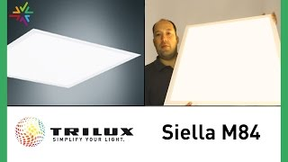 Deckeneinlegeleuchte TRILUX SIELLA M84 (Edition 2013) [watt24-Video Nr. 124]