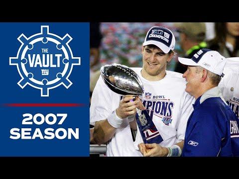 Relive Giants' Super Bowl XLII Season Ft. GREATEST Upset In Postseason History | New York Giants