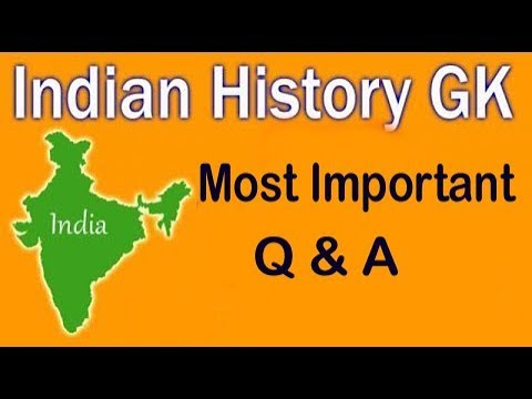 Indian History General Knowledge Most important GK || GK Adda