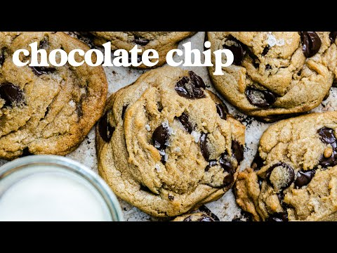 Perfect CHOCOLATE CHIP COOKIES Recipe: Crunchy Outside, Soft & Chewy Inside