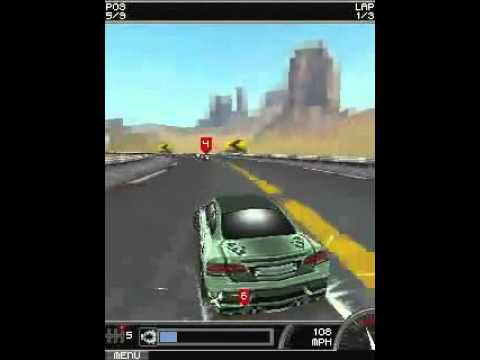 Java best Car games 3D 240x320 Mobile Phone - YouTube