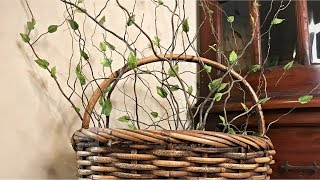 Easy Branch Stems Decor - Summer Decorating - Rustic Country Decorating