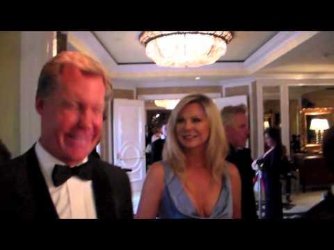 Kent Shocknek KCBS - KCAL News Anchor At Night Of 100 Stars Oscars Party