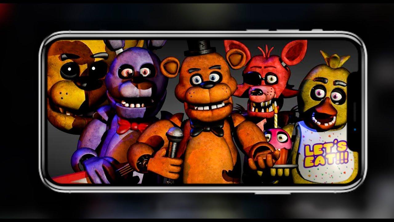 СЭМ ИГРАЕТ ВО ФНАФ 1 НА ТЕЛЕФОНЕ! - Five Nights at Freddy's 1 #1