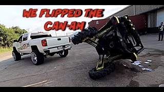 WE FLIPPED & CAUGHT THE 1000 TURBO CAN-AM 2019 ON FIRE