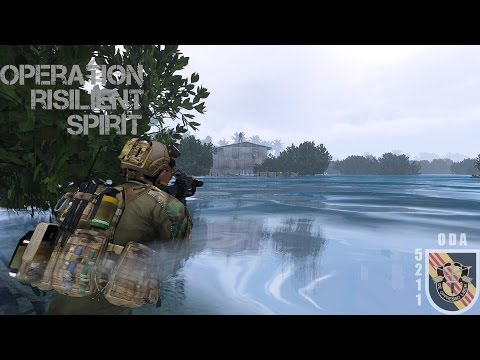 Operation Resilient Spirit 01-17 | Arma 3 Army Special Forces Gameplay Co-op