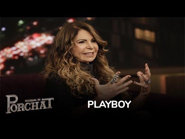 Elba Ramalho conta que fica constrangida ao ver ensaio para a Playboy