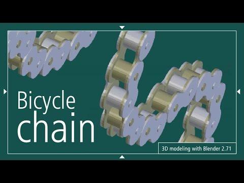Bicycle Chain 3D thumbnail