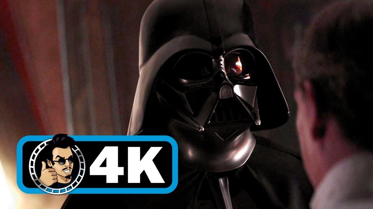 Krennic Visits Darth Vader Scene