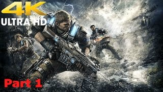 Lets Play Gears Of War 4 | Part 1 | 4K 60FPS