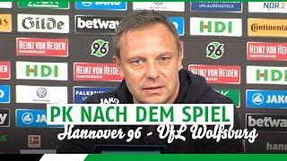 PK nach dem Spiel | Hannover 96 - VfL Wolfsburg