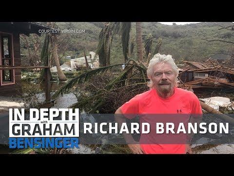 Richard Branson: Surviving Hurricane Irma