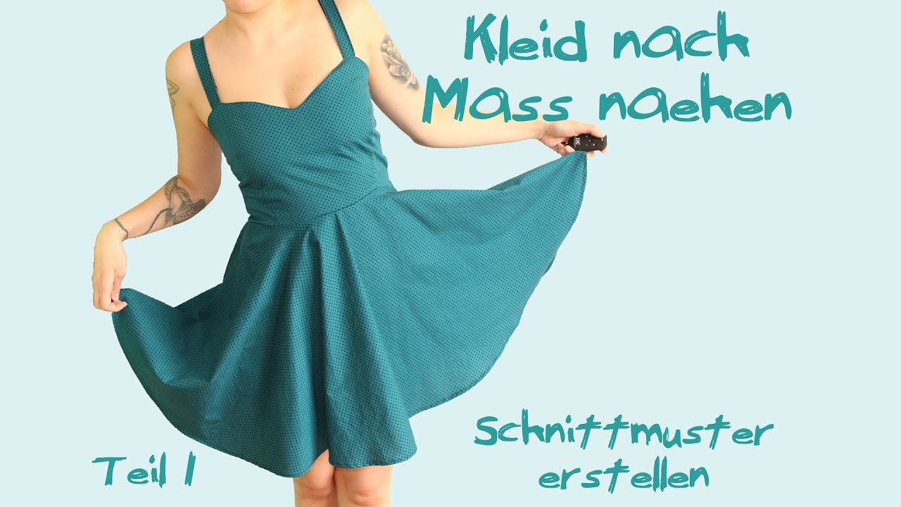 Schnittmuster kleid a linie lang