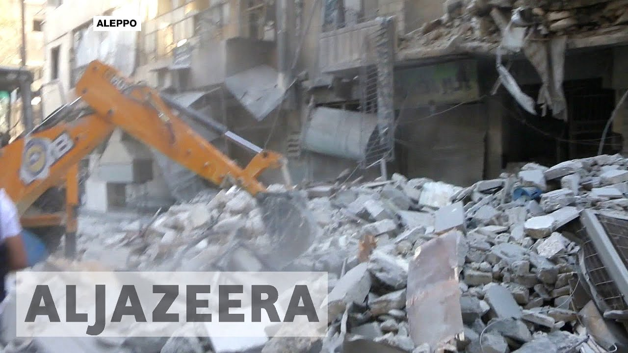 Syrian troops launch major ground assault for Aleppo