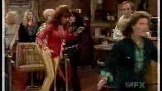 Peg Bundy In Gold Spandex Pants