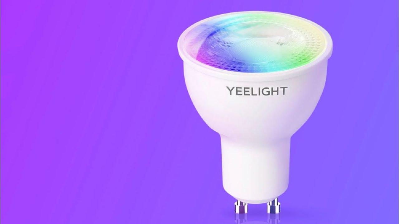 Xiaomi Yeelight GU10 Smart Bulb W1 okosizzó bemutató