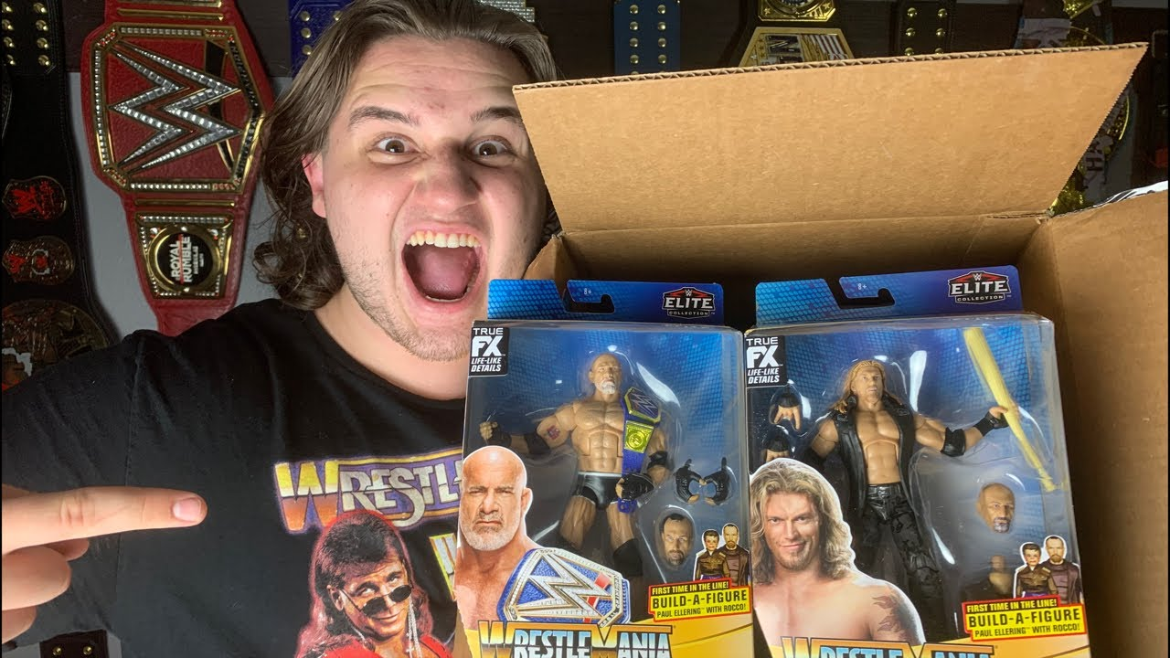 LIVE WWE WRESTLEMANIA 37 ELITE UNBOXING! +Q&A