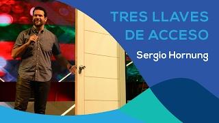 TRES LLAVES DE ACCESO - SERGIO HORNUNG