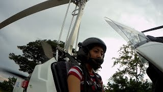 Gyro Island Escape Cebu - Riding 3 aircrafts in a day! (Gyrocopter + Helicopter) Luckiest girl
