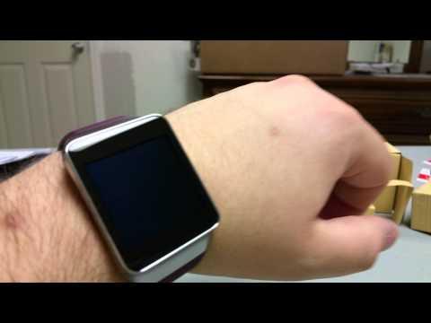 Samsung Gear Live Smartwatch Unboxing (Shot in 4K w/ Verizon Note 4)