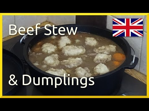 How to Cook British Stew & Dumplings