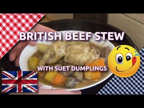 How To Cook British Beef Stew & Dumplings