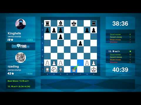 Chess Game Analysis: rzading - Kinghefe : 1-0 (By ChessFriends.com)