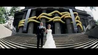 Свадебный клип Тарас и Евгения - свадебное видео Студии «МАРКА»