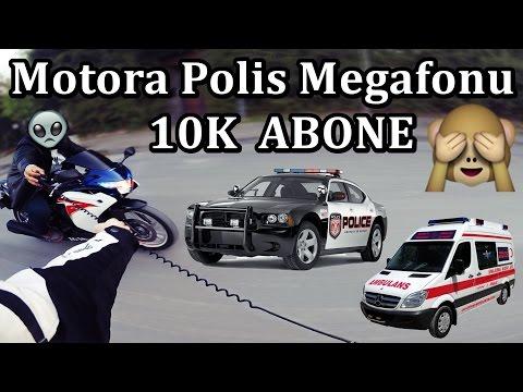 Megafon takıp Gezdik Sonumuz Hastanede Bitti - MotoVlog#39