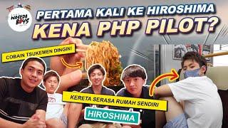 Download lagu HAMPIR BATAL KE HIROSHIMA, MALAH PADA SENENG?!😂   WASEDA BOYS TRIP #9