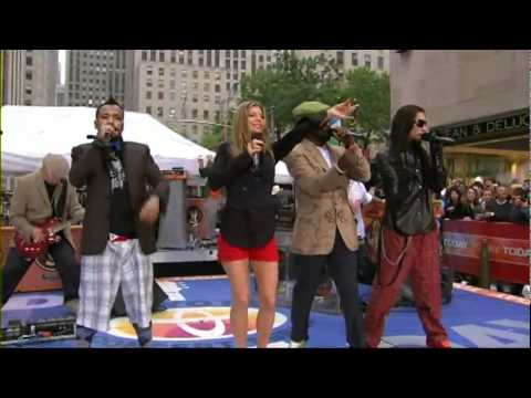 Black Eyed Peas  My Humps Ao Vivo The Today Show