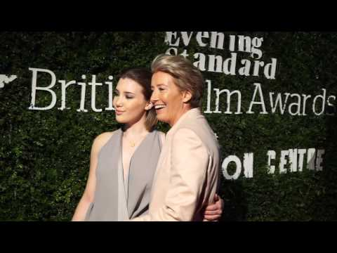 Stars Arrive At The Evening Standard British Film Awards In London