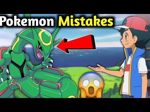 Top 10 Mistakes in Pokemon | sword and shield Pokemon | Hindi | Pokemon mistake | mistake in pokemon