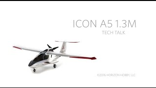 Load Video 2:  E-flite ICON A5 1.3m PNP & BNF Basic Product Spotlight