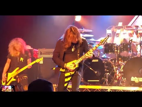 STRYPER play as 3 piece without Oz Fox in Melbourne Australia Aug 17 ...